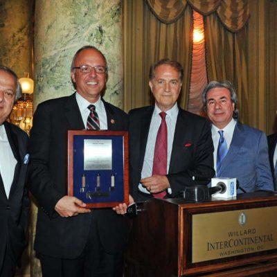 Deutch Receives Frizis Award